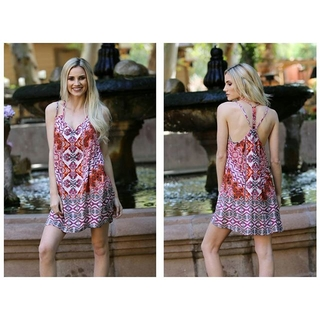 Shoptiques Product: Colorful Summer Dress