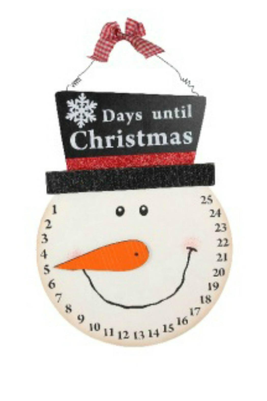Countdown To Christmas Clock.Noelle Snowman Countdown Clock From Delaware By The Gift