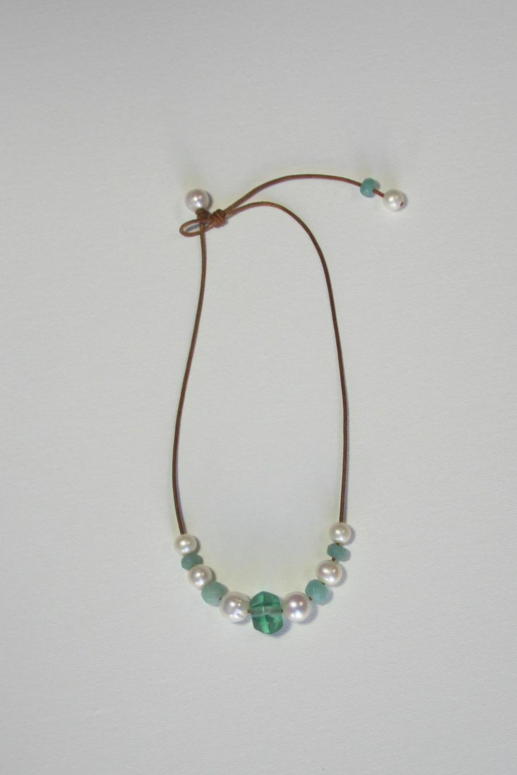 Lily Chartier Pearls Beachy Necklace - Front Full Image