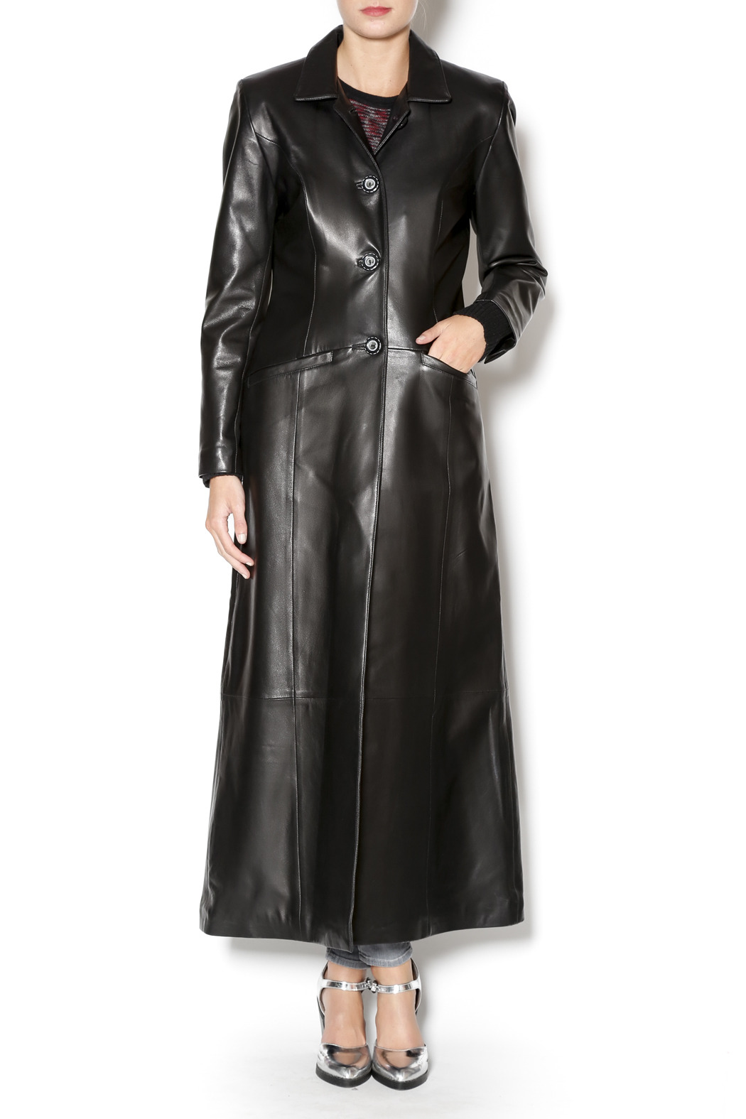 West Coast Leather Leather Trench Coat From San Francisco