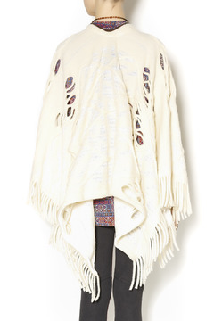 Shoptiques Product: Riding Crochet Poncho