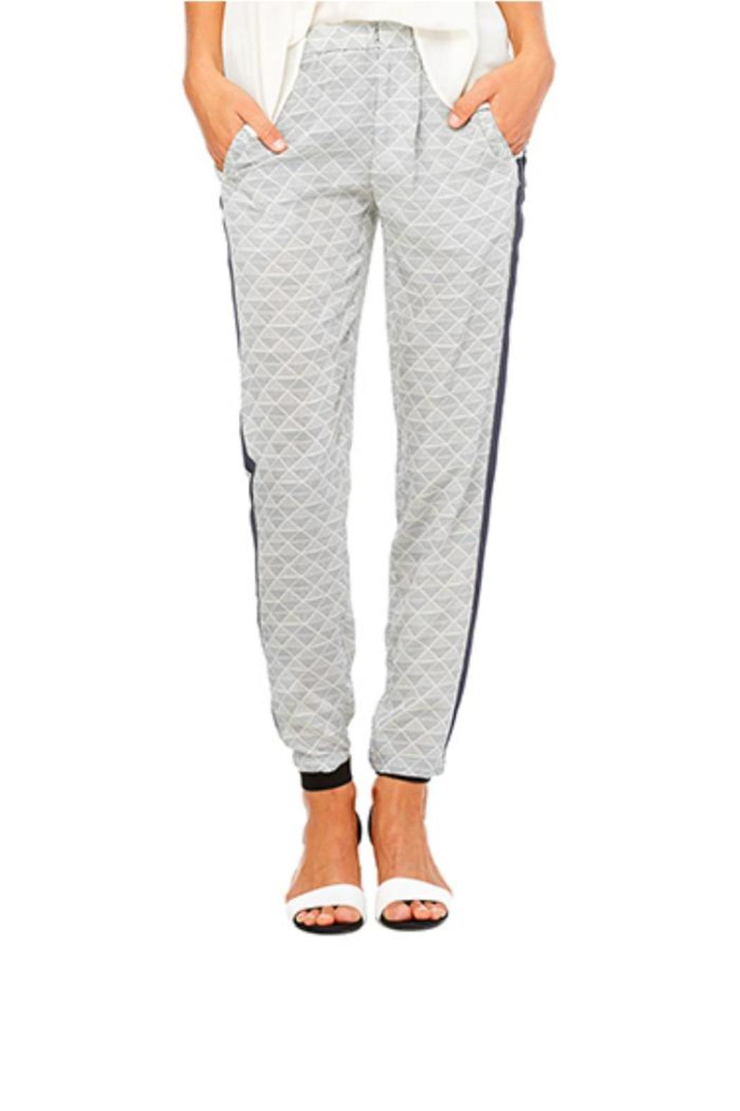 Bella Luxx Silk Trouser - Front Cropped Image