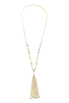 Bejeweled Freshwater Pearl Tassel - Product List Image