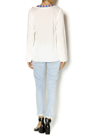Christophe Sauvat Embroidered Ethnic Top - Side cropped