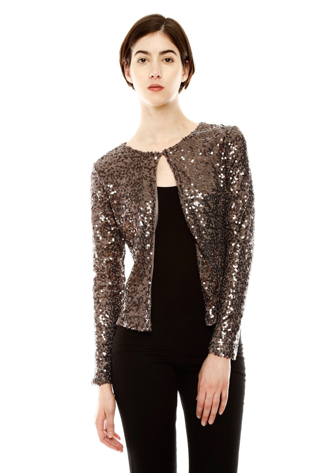 Eunishop Sequin Cardigan from Salem by Every Occasion — Shoptiques