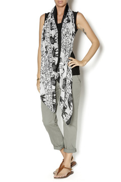 Shoptiques Product: White Print Scarf