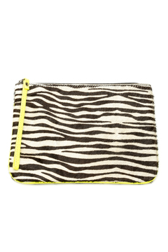 Lalla Marrakech Zebra Print Wristlet - Alternate List Image