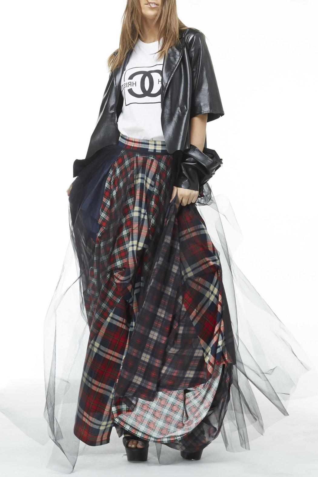 Mhgs Plaid Maxi Skirt From Tampa By Mad Hatter General