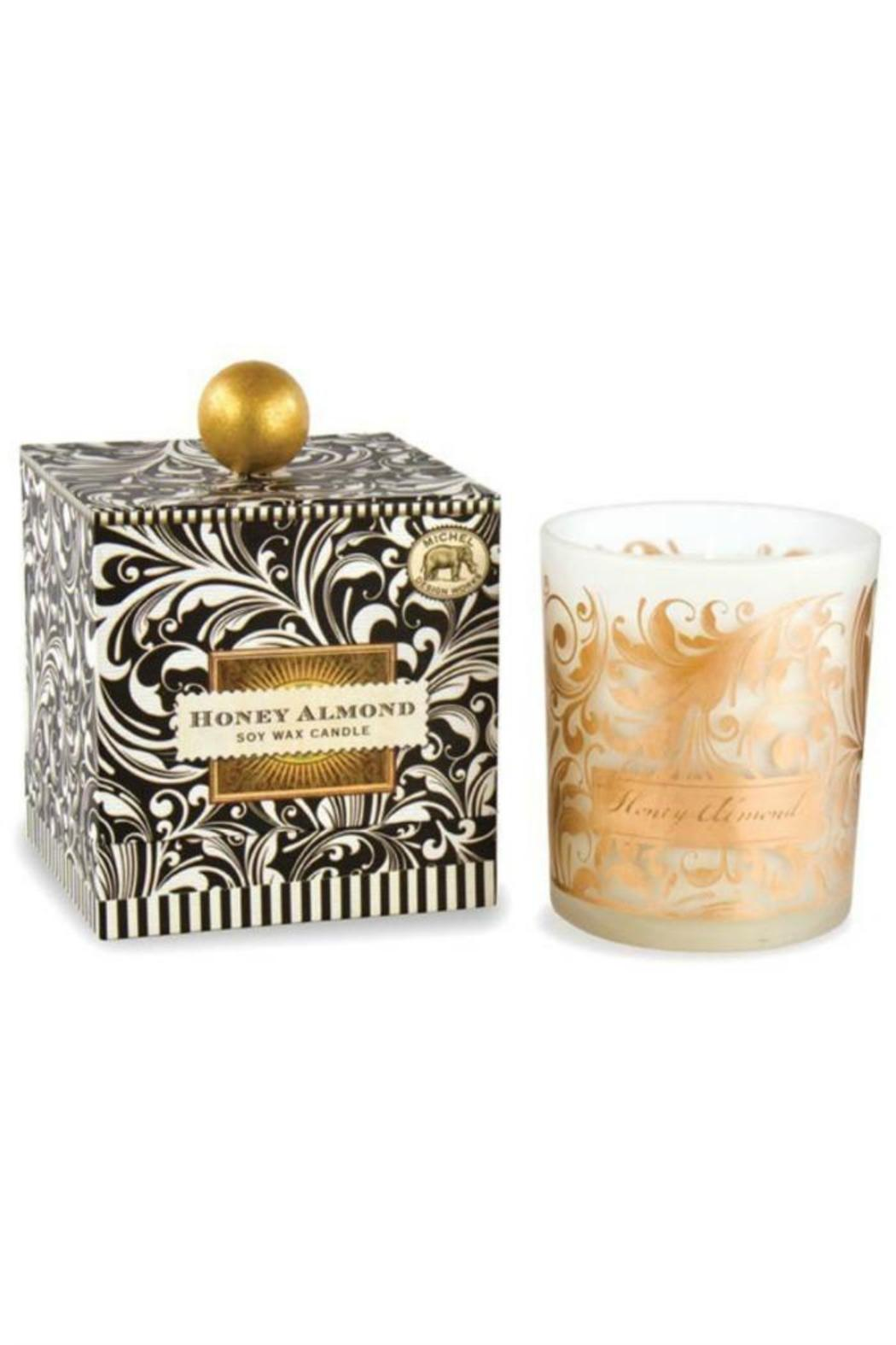 Michel Design Works Honey Almond Candle - Front Full Image
