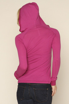 Michelle Hot Pink Hoodie - Alternate List Image