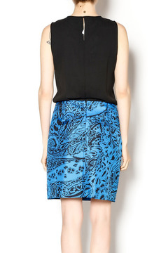 4.Collective Blue Drop Waist Dress - Alternate List Image