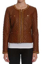 Members Only Quilted Chain Jacket - Product Mini Image