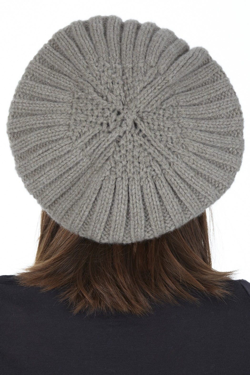 Wool Society France Merino Wool Hat - Back Cropped Image
