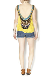 Double Zero Papaya Sunset Tank - Back cropped