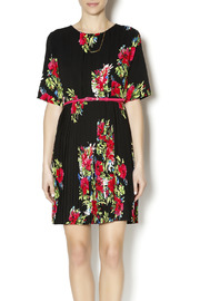 Darling Pleated Floral Dress - Product Mini Image