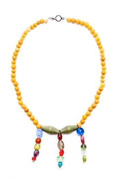 Shoptiques Product: Glass Beaded Necklace