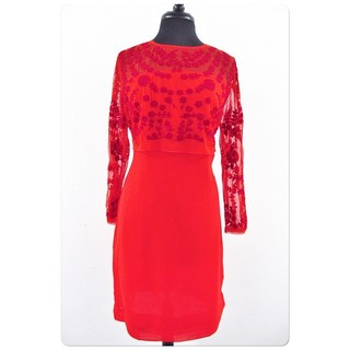 Red Lace Dress - Instagram Image
