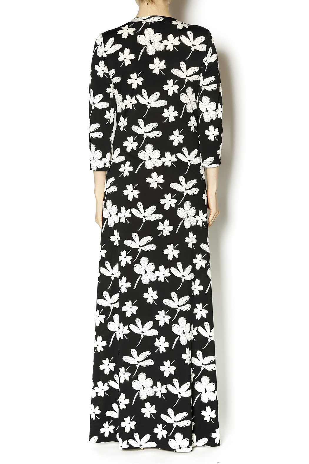 Adore Floral Maxi Dress - Back Cropped Image