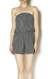 Coveted Clothing Strapless Romper - Product Mini Image