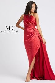 Mac Duggal Asymmetrical Neckline Gown - Product Mini Image