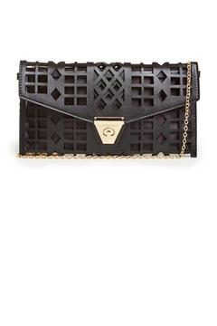 No Label  Cutout Clutch - Alternate List Image