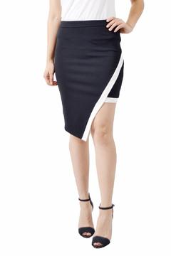 Shopettes Black Asymmetrical Skirt - Product List Image