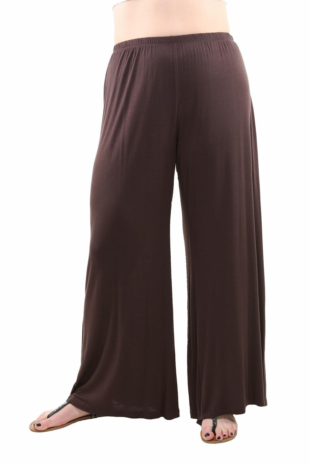 791cb8d75057a 24 7 Comfort Apparel Plus-Size Palazzo Pants from California by The ...