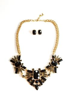 Shoptiques Product: Black Necklace Set