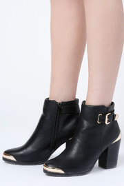 No Rest for Bridget Andrea Ankle Boots - Front cropped