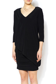 Last Tango Little Black Ruched Dress - Product Mini Image