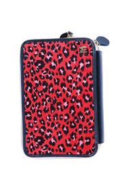 Shoptiques Product: Animal Print Red Clutch