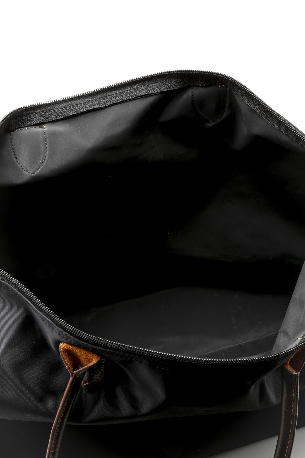 J Medium Nylon Weekender Tote - Front Full Image