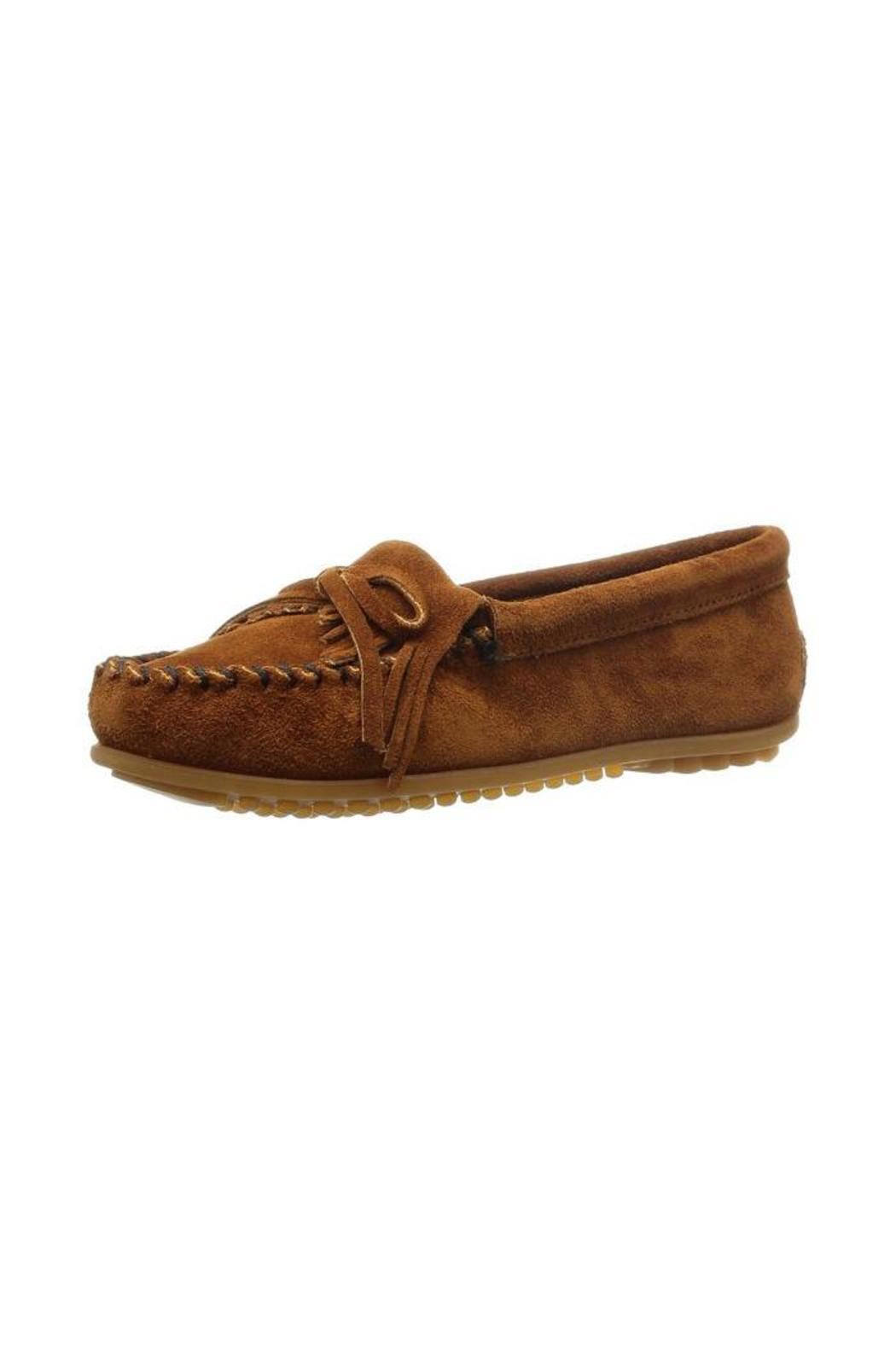 Minnetonka Kilty Moccasins - Front Cropped Image
