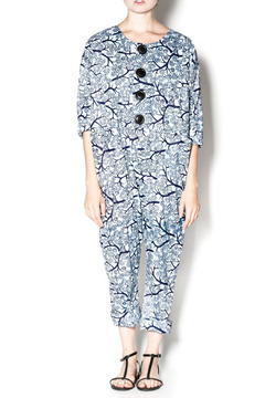 Royal Jelly Harlem Playful Button Jumpsuit - Product List Image