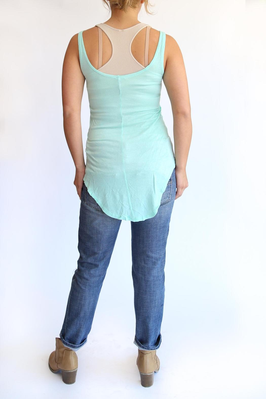 vFish designs Flawless Tank - Back Cropped Image