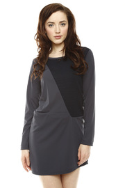 Shoptiques Product: Ribbed Detail Dress