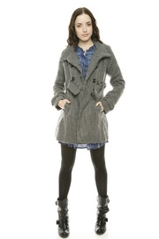 Voice Twill Coat - Front full body