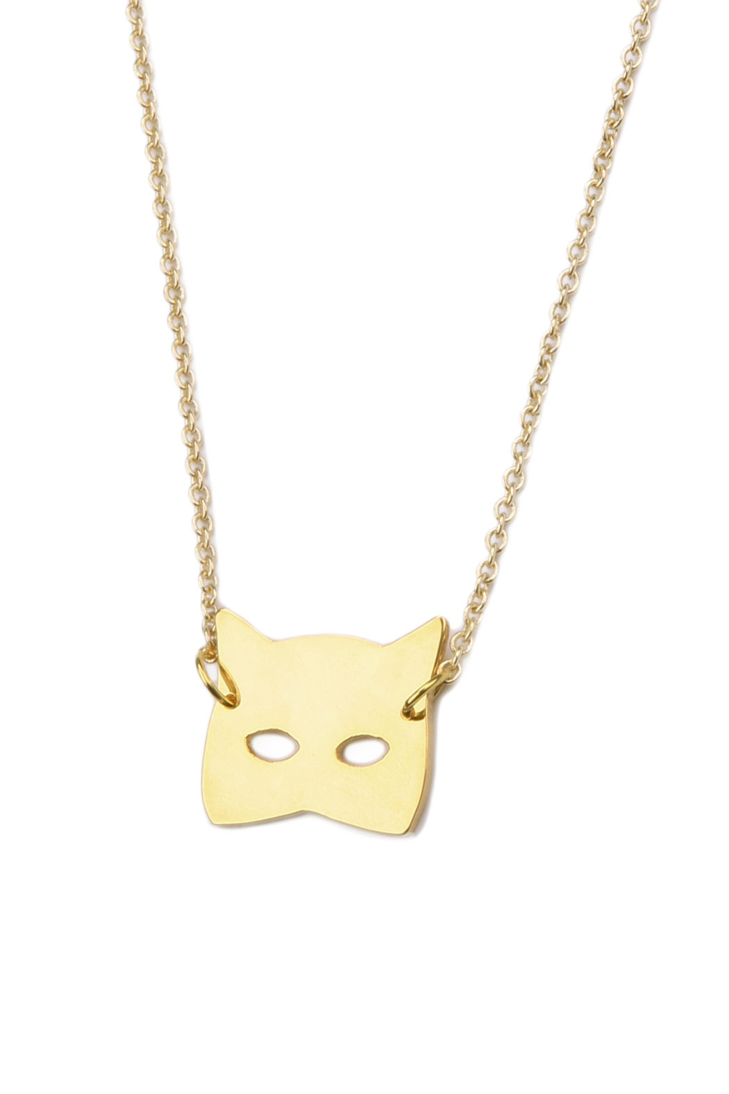 felicie aussi Cat Necklace - Front Cropped Image