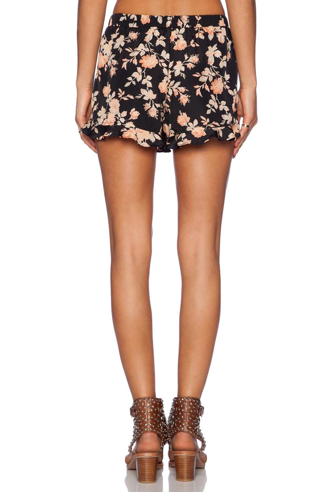 Jack Floral Ruffle Shorts - Front Full Image