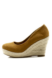 The Little Shoe Store Live In Espadrilles - Front full body