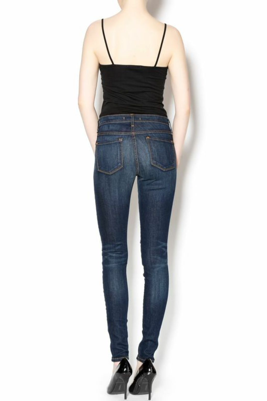 Flying Monkey High-Waisted Ripped Jeans - Side Cropped Image