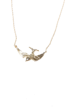 Shoptiques Product: 3D Swallow Necklace