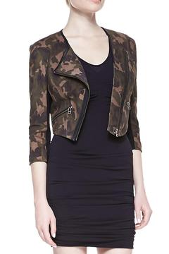 CUT25 BY YIGAL AZROUEL Cropped Camo Jacket - Product List Image