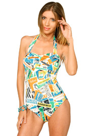 Shoptiques Product: Ali's Maillot One-Piece - Front cropped