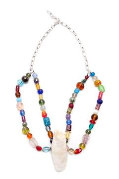 Shoptiques Product: Beaded Oyster Necklace