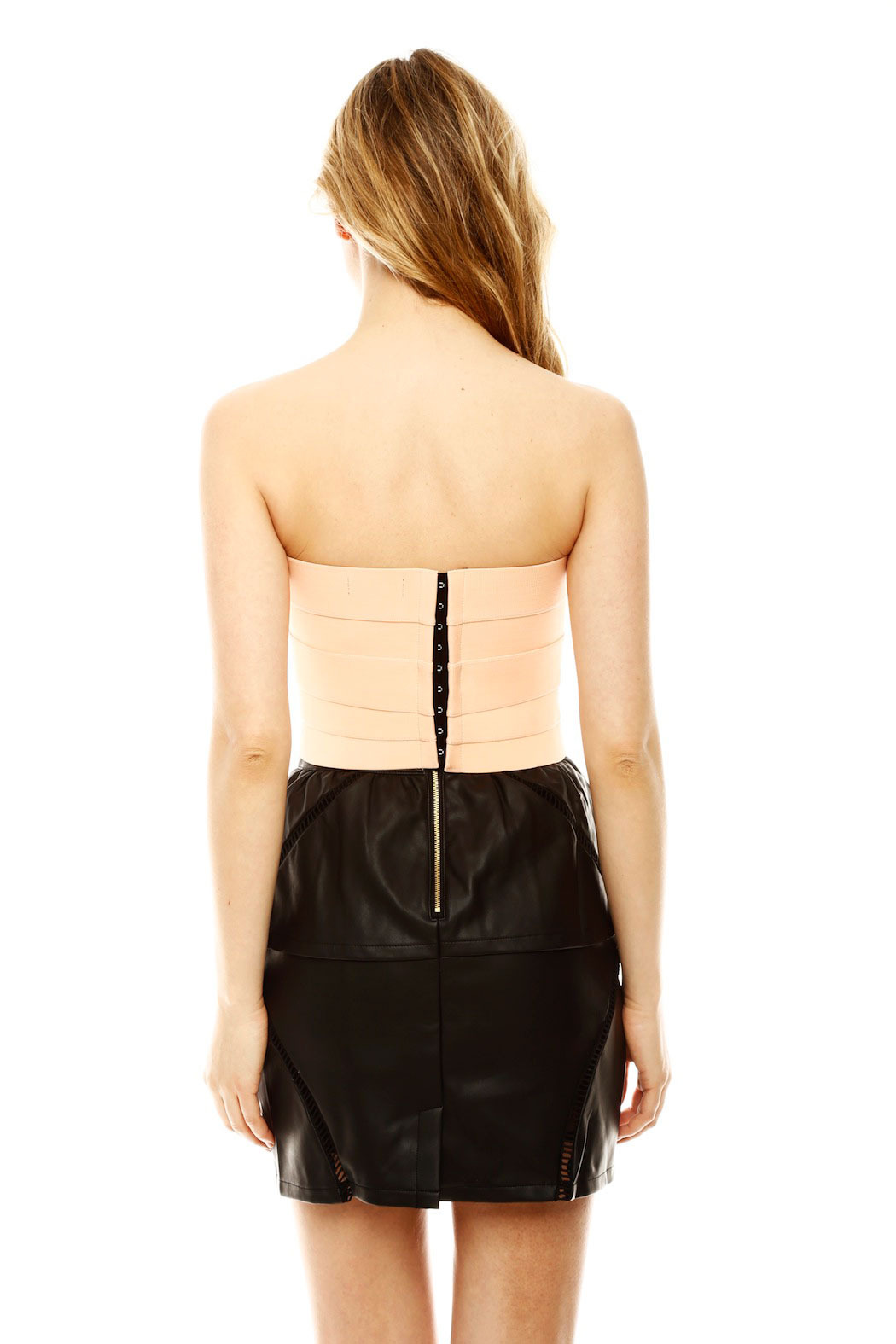 Nameless Bandage Bustier - Back Cropped Image