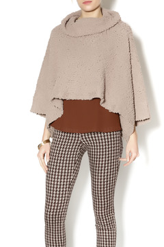 Shoptiques Product: Nude Crop Poncho