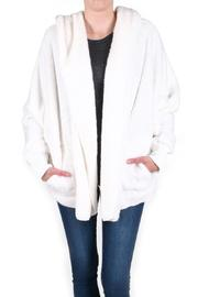 Honey Punch Fuzzy Hooded Jacket - Product Mini Image