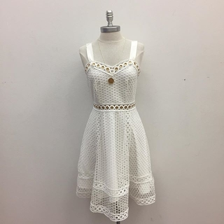 Unknown Factory White Dress - Instagram Image