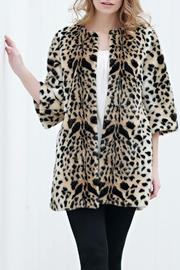 Donna Salyers Collarless Leopard Stroller - Front cropped